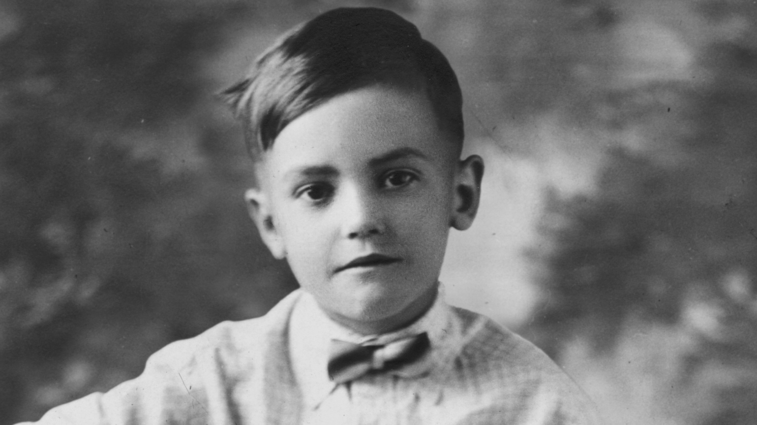 Maurice as young boy