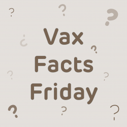Vax Facts Friday logo